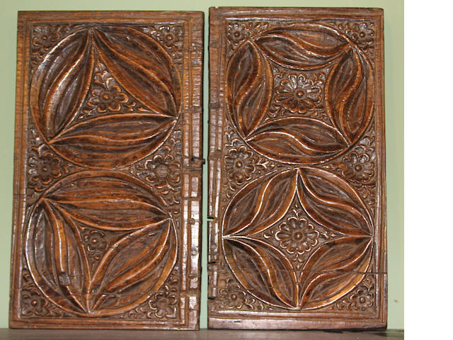 Two 17th Century Continental carved panels