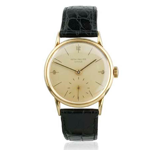 A Gentleman's Patek Philippe wristwatch