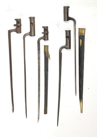 A Socket bayonet