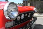 1968 Daihatsu Campagno Spider  Chassis no. 11524 Engine no. 22015