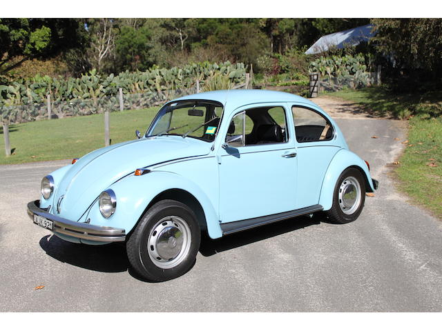 1973 Volkswagen Beetle 1300  Chassis no. 1132838769 Engine no. AB926138
