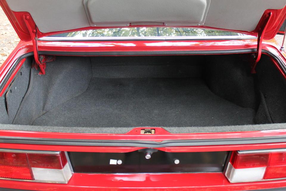 1986 BMW 635CSi  Chassis no. WBAEC520701886008 Engine no. 40783852