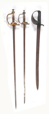 An 1858 Pattern Naval Cutlass Bayonet