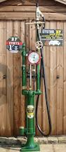A Gilbert and Barker Model T206-25, hand operated petrol pump,