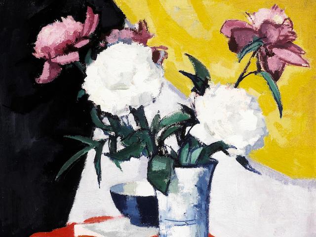 Samuel John Peploe Peony Roses