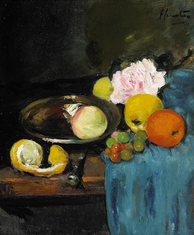 George Leslie Hunter Roses and Fruit