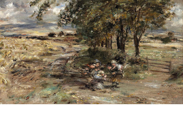 William McTaggart A Wet Harvest day