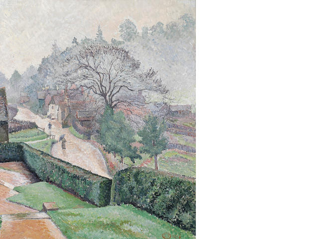 Lucien Pissarro A Wet Day: Coldharbour from Roffeys
