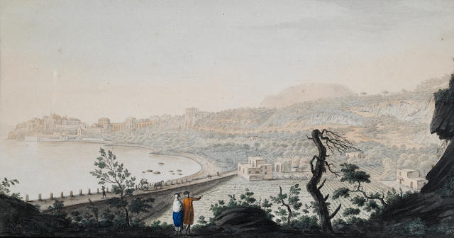 Pietro Fabris (Naples circa 1740-1792) View of Pozzuoli