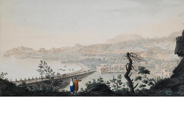 Pietro Fabris (Naples circa 1740-1792) View of Pozzuoli