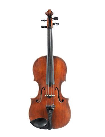 An Italian Violin attributed to Carlo Giuseppe Testore, Milan, circa 1730 (4)