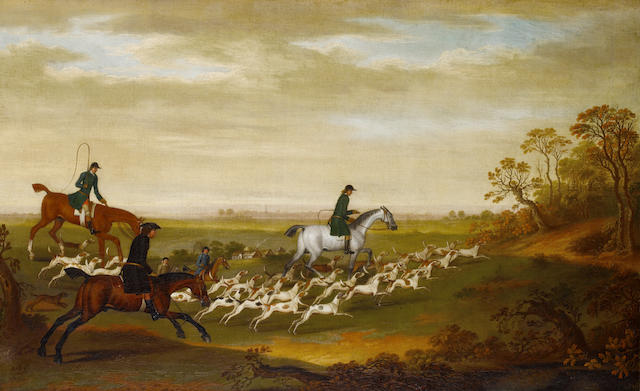James Seymour hunting scene