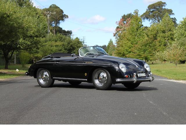 1957 Porsche 356A Speedster  Chassis no. 84202 Engine no. 81453