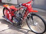 1998 Honda 650cc Speedway Racing Motorcycle