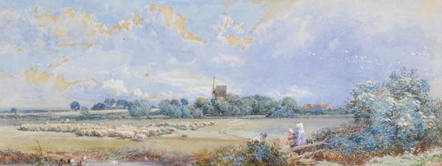 Myles Birket Foster, RWS (British, 1825-1899) Spring time