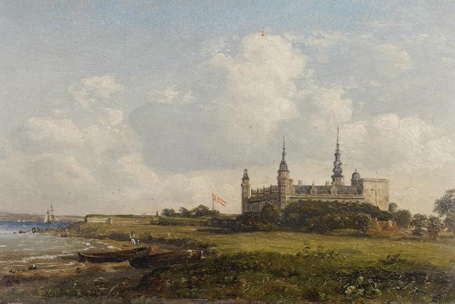 Constantin (Carl Christian Constantin) Hansen (Danish, 1804-1880) Kronborg Castle