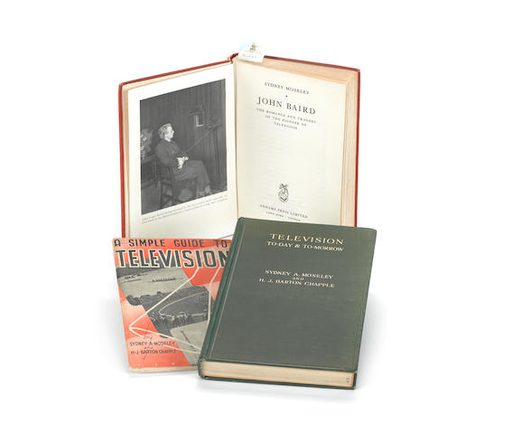 Three books on the rudiments and history of early Television: