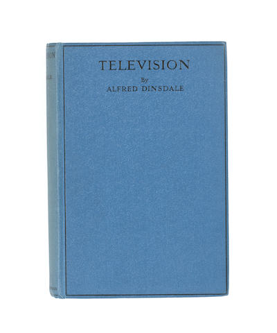 Television, Dinsdale, A., with signature and dedication by A. Dinsdale to W. G. W. Mitchell,