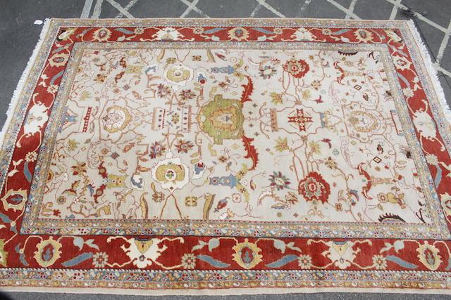 A modern Ziegler style carpet