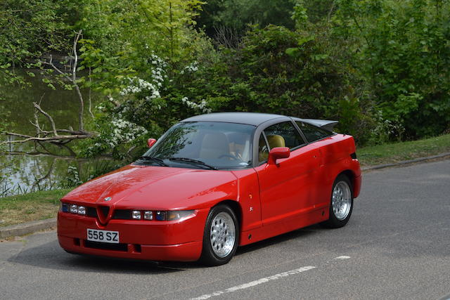 From The Patrick Collection, one owner, 3,580 miles from new,1990 Alfa Romeo SZ Coupé  Chassis no. ZAR16200003000077 Engine no. 1394230000051