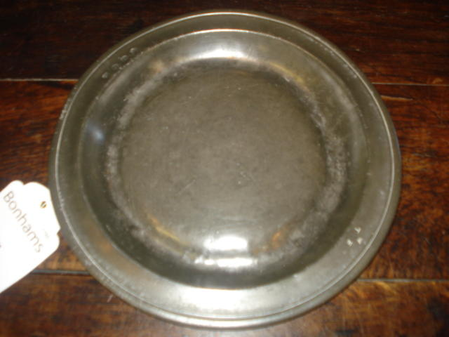 An early 18th Century single reed dish, West Country