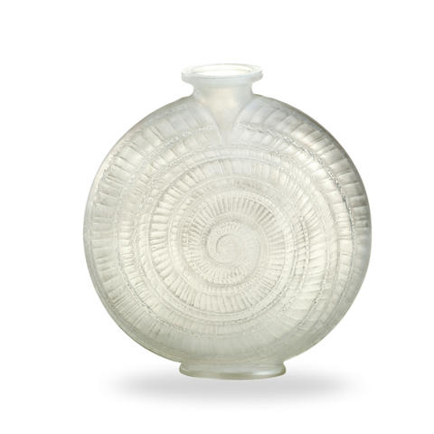 René Lalique 'Esargot' vase