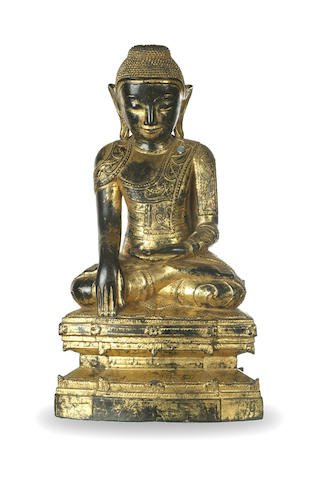 A Burmese Buddha in Shan style 19th century