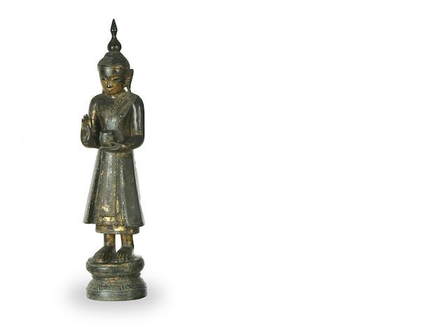 A Burmese Buddha in Shan style