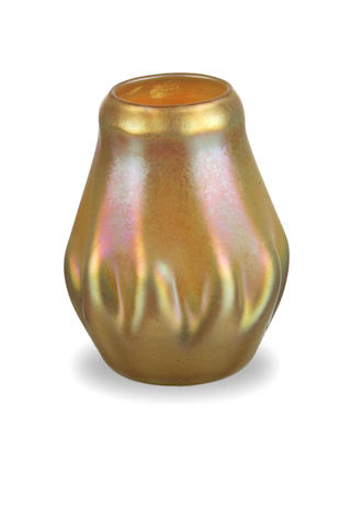 A Favrile glass vase circa 1900