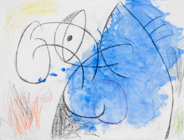 Joan Miró (1893-1983) Tête