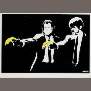 Banksy (British, born 1975) 'Pulp Fiction', 2003