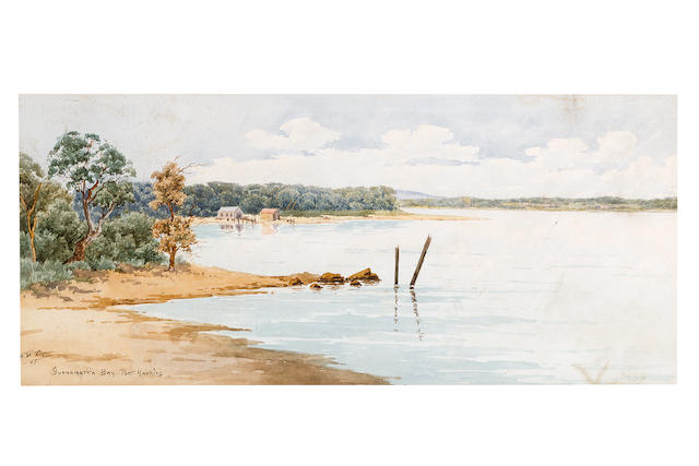 Neville William Cayley (Australian, 1887-1950) Gunnammatta Bay, Port Hacking