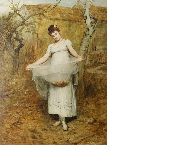 Sir William Quiller Orchardson, RA HRSA (British, 1832-1910) 'Autumn'