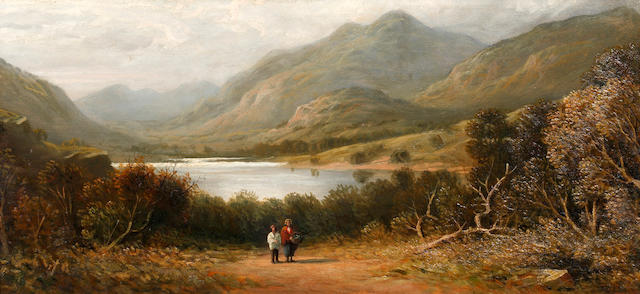 Samuel Bough, RSA (British, 1822-1878) Loch Ness