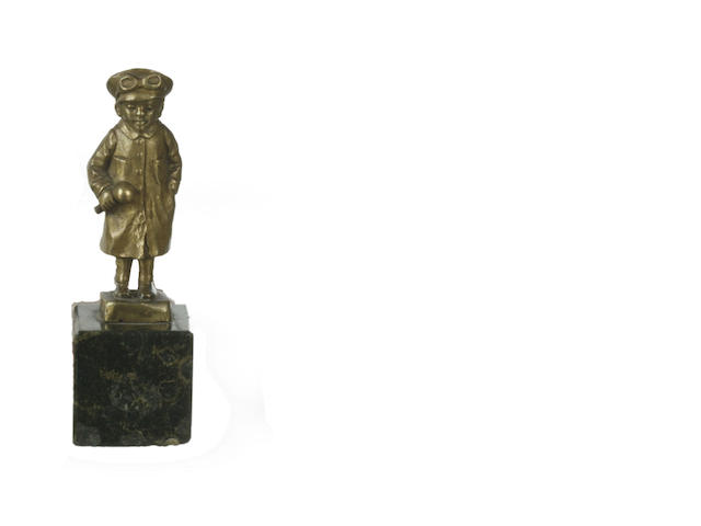 An Art Deco gilt bronze car mascot