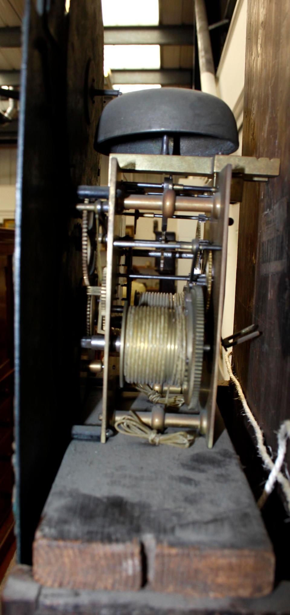 A George III mahogany longcase clock by Philip Lloyd of Bristol,