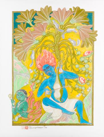 A. Ramachandran (Indian, born 1935) Untitled,