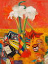 John Bellany, CBE RA HRSA LLD(Lon) (British, born 1942) Still life with Amaryllis