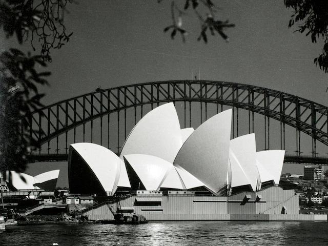 Max Dupain - Sydney Opera House