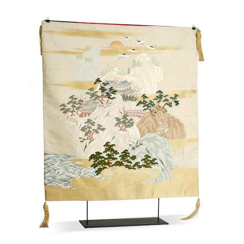 A Japanese Fukusa Edo period