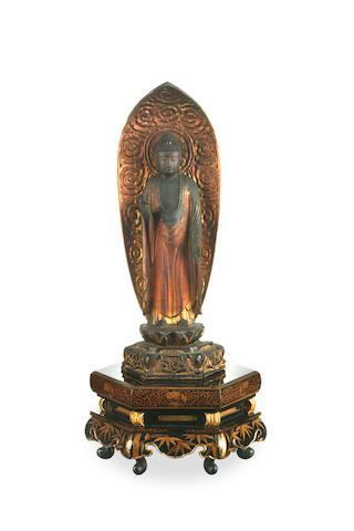 A Japanese Buddha Amitabha Edo
