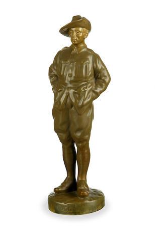 A rare Royal Doulton figure, Digger HN 322 pre 1920