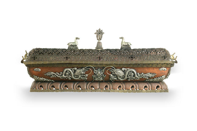 A Tibetan incense burner 19th century