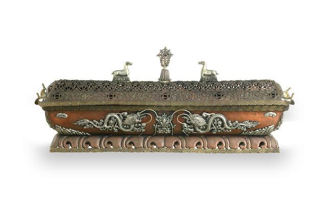 A Tibetan incense burner 19th century