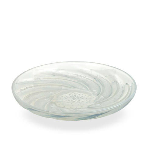 A René Lalique Poissons float bowl  circa 1930