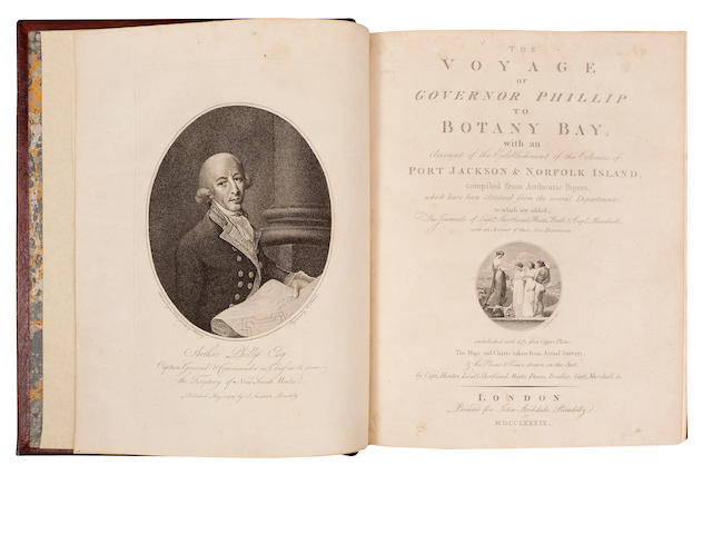 Phillip, Arthur The Voyage of Governor Phillip to Botany Bay; with an Account of the Establishment of the Colonies of Port Jackson & Norfolk Island...