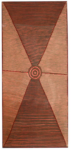 Mick Namarari Tjapaltjarri (circa 1926-1998) Untitled (Site of Marnpi)