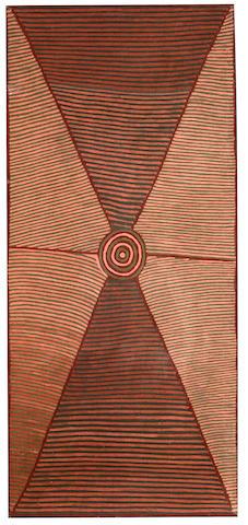 Mick Namarari Tjapaltjarri (circa 1926-1998), Mick Namarari Tjapaltjarri Untitled (Site of Marnpi)