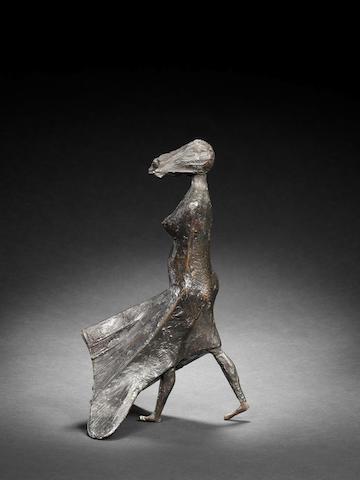 Lynn Chadwick (British, 1914-2003) Maquette V High Wind 29 cm. (11 1/4 in.) high