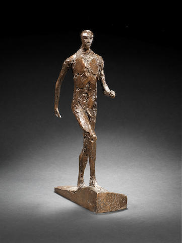 Dame Elisabeth Frink R.A. (British, 1930-1993) Man Running III 38 cm. (15 in.) high